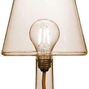 Tischleuchte LED Transloetje Braun Fatboy