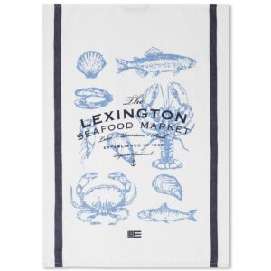 Lexington Küchentuch Print Fische/Seafood Sommer